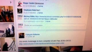 françois hollande fait censurer les commentaires sur sa page fb