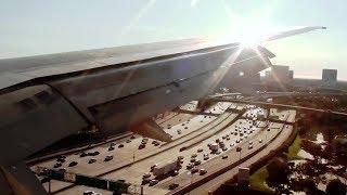 Delta 757 Very Fast Stop at John Wayne Airport (KSNA) - *HD with ATC!*