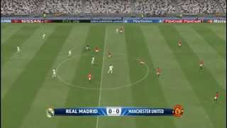 PES 2015 - Real Madrid vs. Manchester United gameplay (PC)