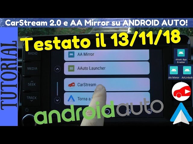Carstream Android Auto 2019