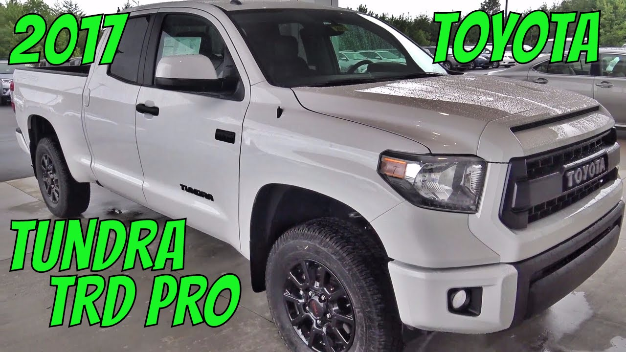 2017 toyota tundra truck trd pro learning tutorial review youtube. Black Bedroom Furniture Sets. Home Design Ideas