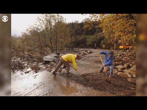 Death toll rises to 20 in California mudslides