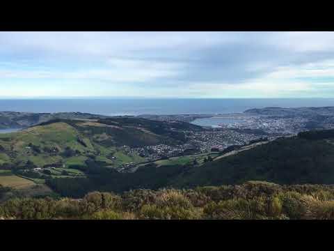 Mount Cargill, Dunedin, New Zealand.