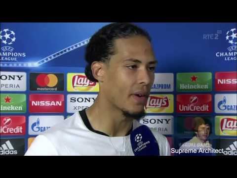 Virgil Van Dijk Post Match Interview Roma 4-2 Liverpool