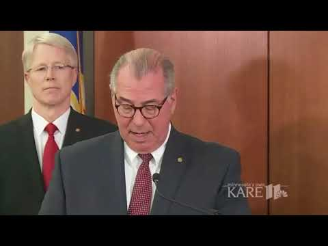 Hennepin County Attorney Mike Freeman announces charges in the Justine Damond case