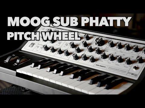 Moog Sub Phatty Pitch Wheel Change