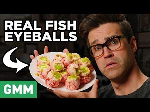 Rick and Morty Cartoon Food Taste Test