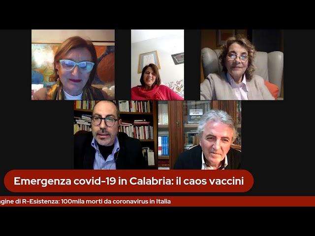 Emergenza covid-19: il caos vaccini in Calabria