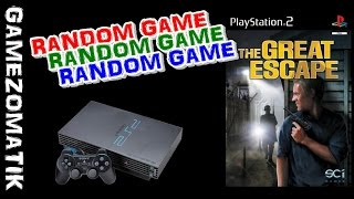 THE GREAT ESCAPE PS2-RANDOM GAME