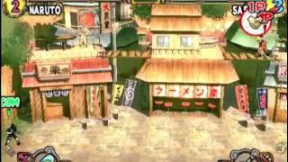 Naruto: Ultimate Ninja 2 (PS2 Gameplay)