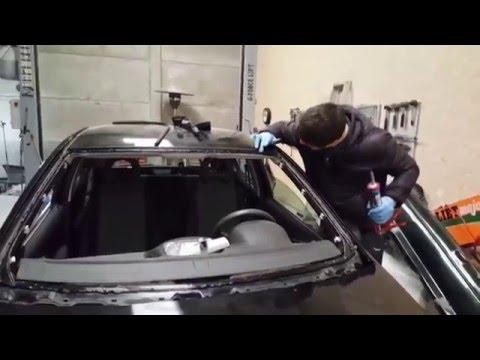 Как поменять лобовое стекло своими руками? Часть 2: установка