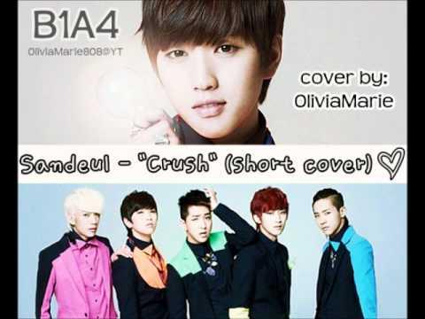 "Sandeul 산들 (B1A4) - ""Crush"" 짝사랑 ~ [cover]"