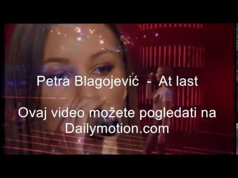 Petra Blagojevic  -  At Last  -  Etta James