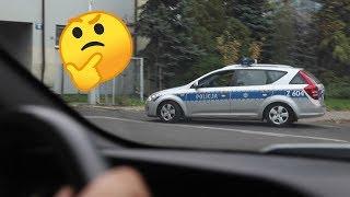 Śledzimy policyjny radiowóz