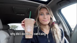 singing my starbucks order for a week...