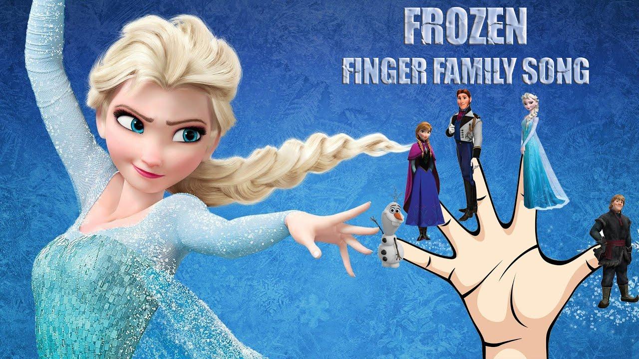 Frozen Finger Family Nursery Rhymes Song Frozen Nursery