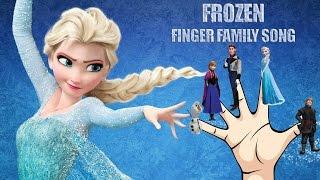 Frozen Finger Family Nursery Rhymes Song | Frozen Nursery Rhymes For KIDS | Elsa