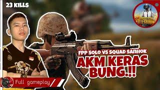 1 VS 4 BARBAR AKM 23 KILL - PUBG Mobile FPP