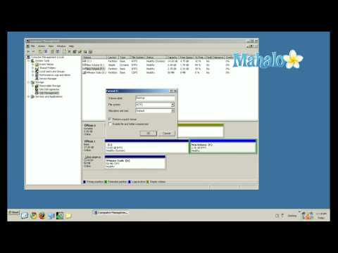 How To Format A Hard Drive For Windows XP