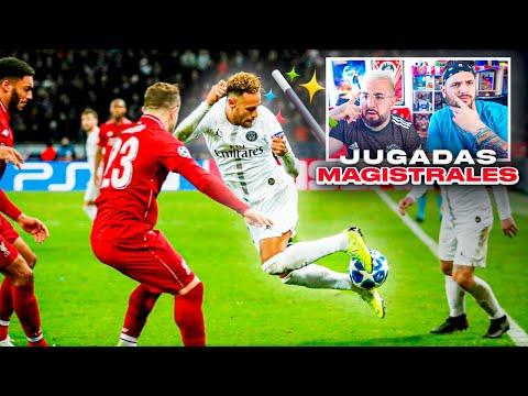JUGADAS MAGISTRALES DE 200IQ EN EL FUTBOL ft. Vituber