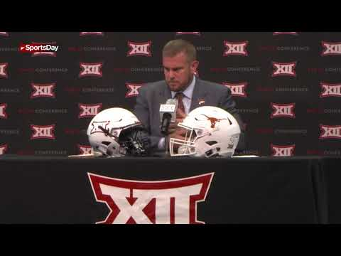 What does Texas head coach think of his quarterbacks?