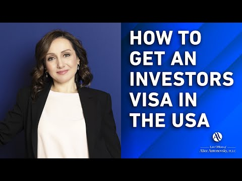 EB5 Visa Process - How to Become a US Investor
