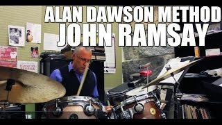 Drum lesson on the Alan Dawson method and drum solo - John Ramsay | The DrumHouse