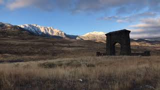 Travel Vlog |Roosevelt Arch  Yellowstone National Park|