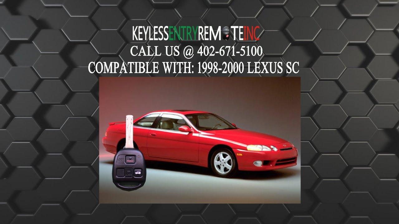 2000 lexus gs300 key fob battery