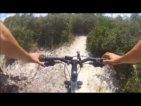 Gopro Jonathan Dickinson Mountain Bike trail