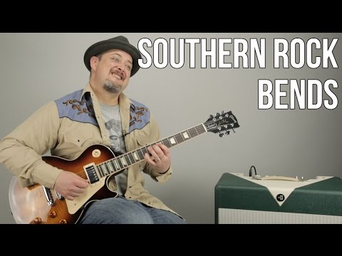 Southern Rock Style Bending Technique a la Lynyrd Skynyrd
