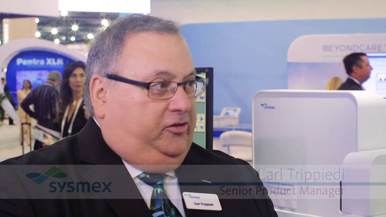 Sysmex XN-3000 Automated Hematology Analyzer & High Efficiency System at  AACC 2016