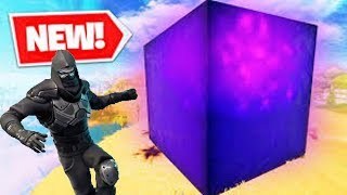 Fortnite LIGHTNING CUBE EXPERIMENTS + NEW ROAD TRIP SKIN GAMEPLAY