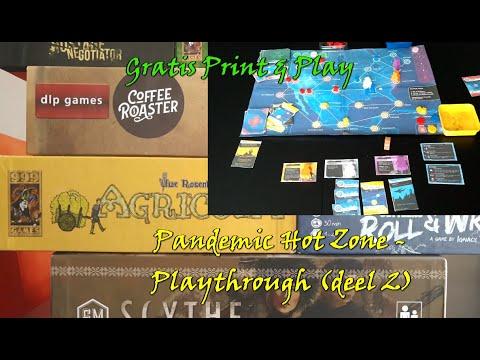 Pandemic: Hot Zone - North America gratis solo spelen: Deel 2 (playthrough)