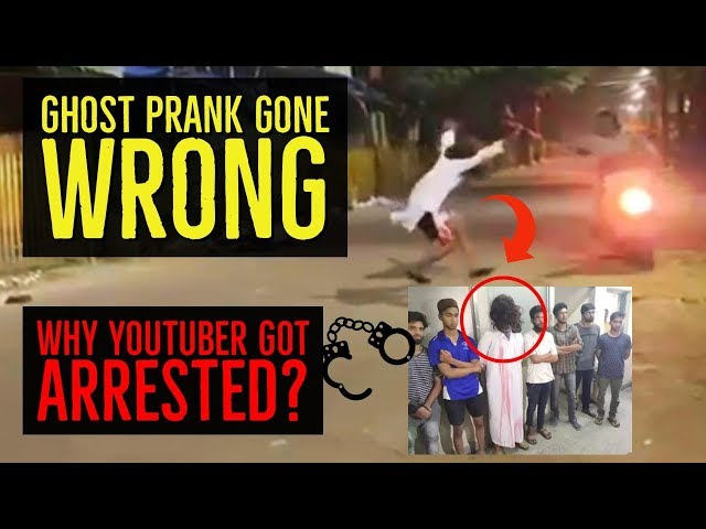 GHOST PRANKS in India Illegal or not? 100% UNKNOWN FACTS