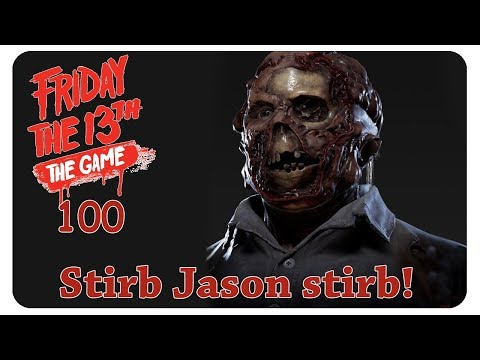 Jason ist tot!! #100 Friday the 13th: The Game [deutsch] - Gameplay Together