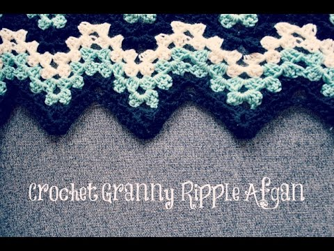 Granny Ripple Afghan Crochet In Tamil Youtube