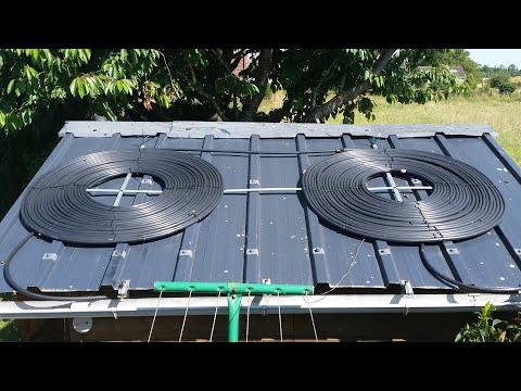 tapis solaire intex montage et