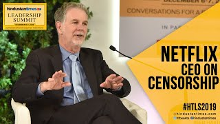 'Self-regulation most pragmatic': Netflix chief on censorship, at #HTLS2019
