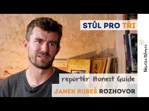 Janek Rubeš rozhovor: Podvodníci můžou všechno, smějou se mi do očí | Neurazitelny.cz | Stůl pro tři