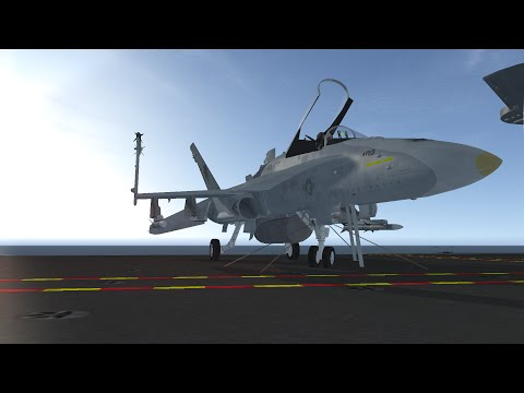 F/A-18 Hornet - bringing it home (landing with no HUD edition)