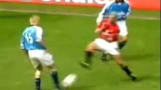 Horrific Soccer Tackle!