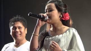 Manipuri Song ''KARIGI NANGNA EIBU ASUK WAHALLIBA'' Ranbir & Pushparani - live