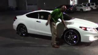 Walkaround: 2011 Honda Accord Coupe EX-L V6 in White Diamond Pearl, Wilson, NC
