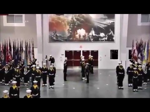 Navy Boot Camp Graduation - February 5, 2016 - Great Lakes Illinois, Waukeagun