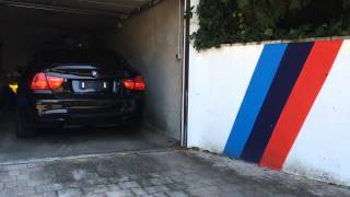E90 335i N54 Cold Start with Catless Dp and BMW Performance Exhaust