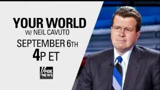 Neil Cavuto returns September 6!