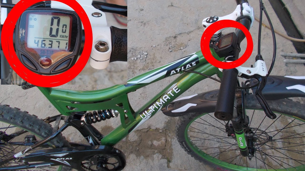 Bicycle Speedometer Installation | how to install bicycle ...