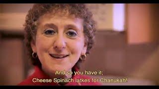 Spinach Latkes for Hanukkah