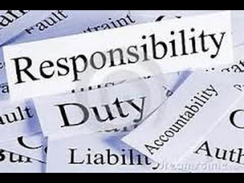 Duties & Responsibilities of Citizens